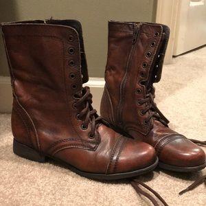 Steven madden combat boots